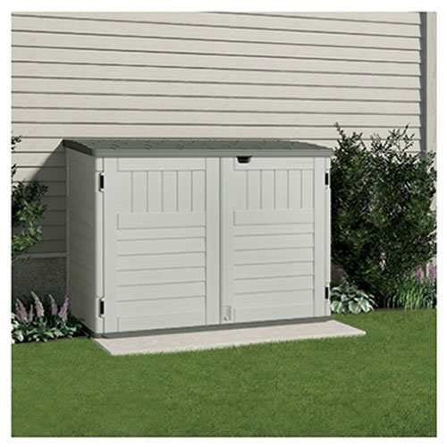 Made Of High Quality Plastic This Handy Bike Shed Boasts Smart Features Including Ful Gas Shocks And Guarantees Enough Durability To Keep Your