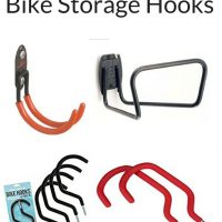 The best bike hooks for storing your bike. Bike hooks are an affordable way to store your bike from the ceiling or wall.